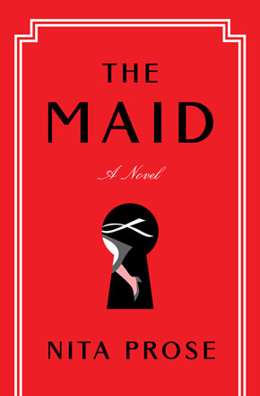 The Maid by Nita Prose book cover
